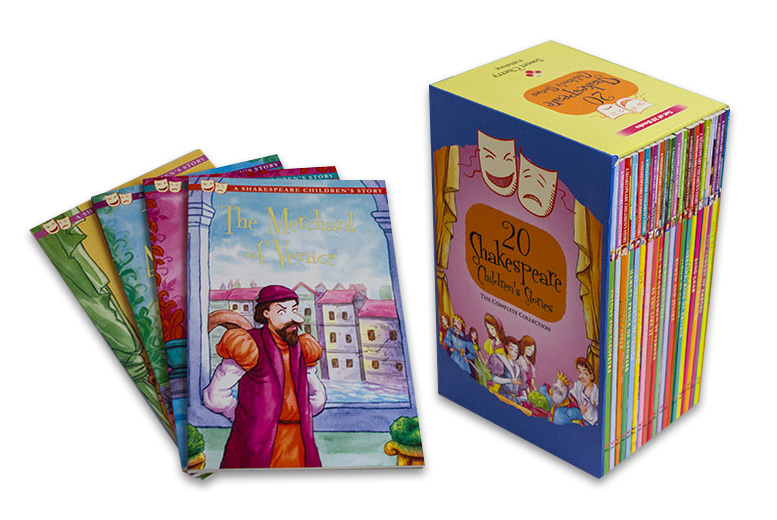20 Children's Shakespeare Books for £12