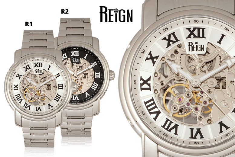 Reign Men's Luxury 'Kahn' Automatic Watch - 6 Designs!