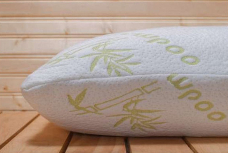 1 or 2 Bamboo Memory Foam Pillows