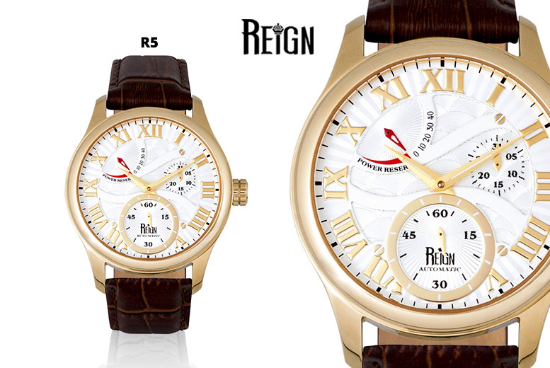 Men's Reign Luxury Automatic 'Bhutan' Watch - 5 Designs!