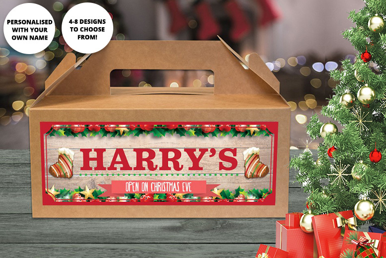 1 or 2 Personalised Christmas Eve Boxes - 8 Designs!