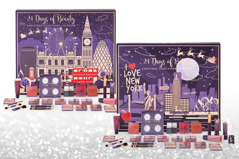 24 Days of Beauty Christmas Advent Calendar – 4 Options
