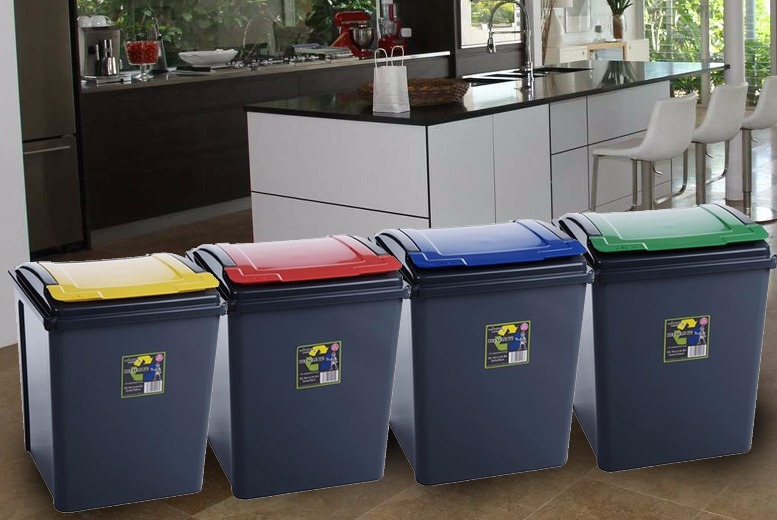 Recycling Bin - 25L or 50L & 4 Colours!