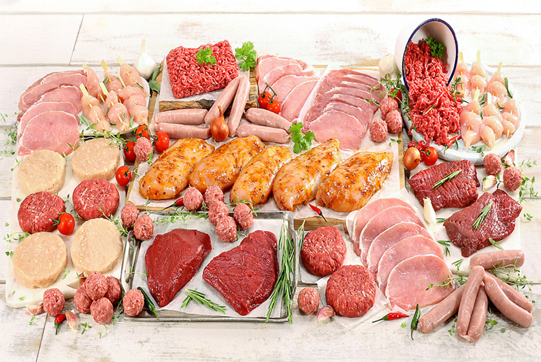 Muscle Food Lean Meat Hamper – 62 or 77pc! from £35