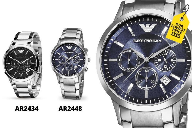 Armani Men's Watch - 2 Designs!