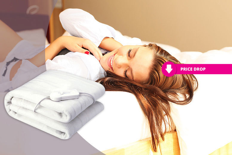 Super Soft Deluxe Electric Blanket – 4 Sizes! from £7.99