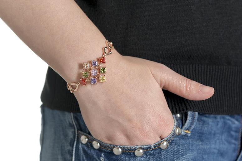 Infinity 'Love Forever' Bracelet for £10.99