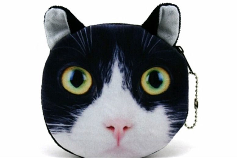 Cat Coin Purse – 3 Designs! for £2.99