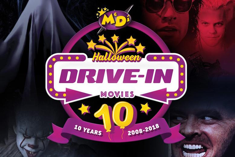 Halloween Drive-In Cinema & Popcorn @ M&D's Theme Park