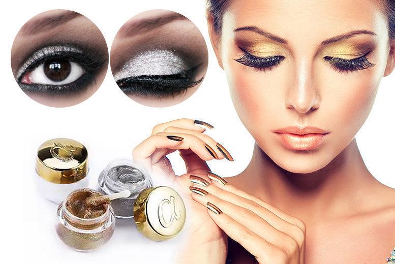 Foil Eyeshadow Glitter Gel - 2 Colours!