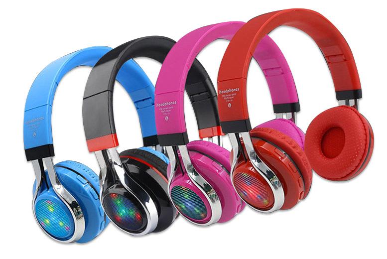 Foldable Wireless Bluetooth Headphones  4 Colours!