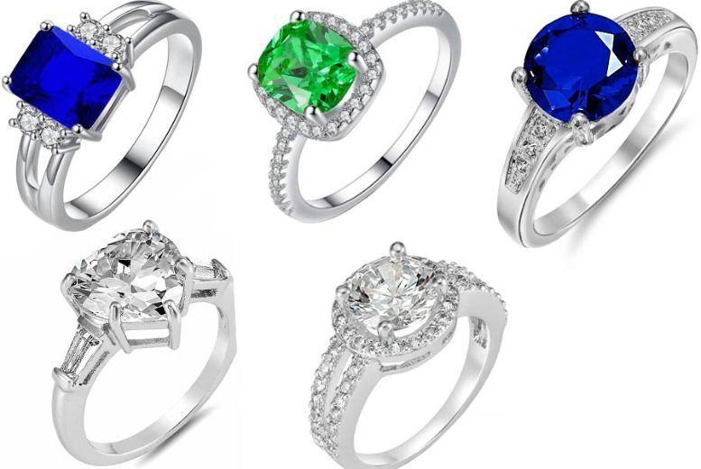 Crystal Ring - 5 Designs!
