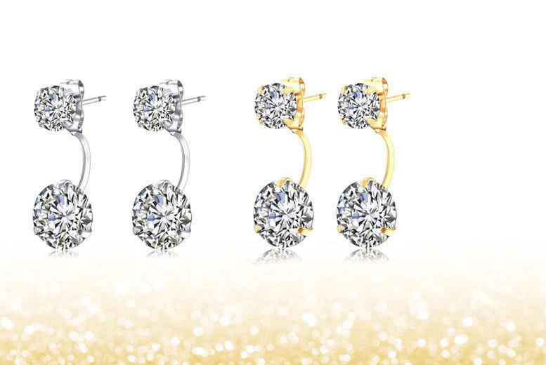 Double Drop Earrings - 2 Colours!