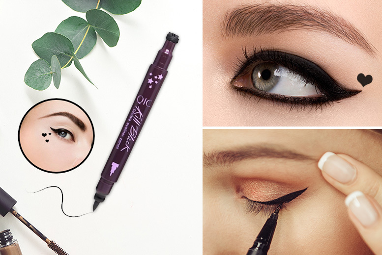 2-in-1 Heart Stamp Liquid Eyeliner from £3.99