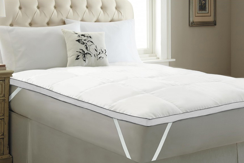 5cm Luxury Hungarian Goose Feather Mattress Topper - 5 Sizes!