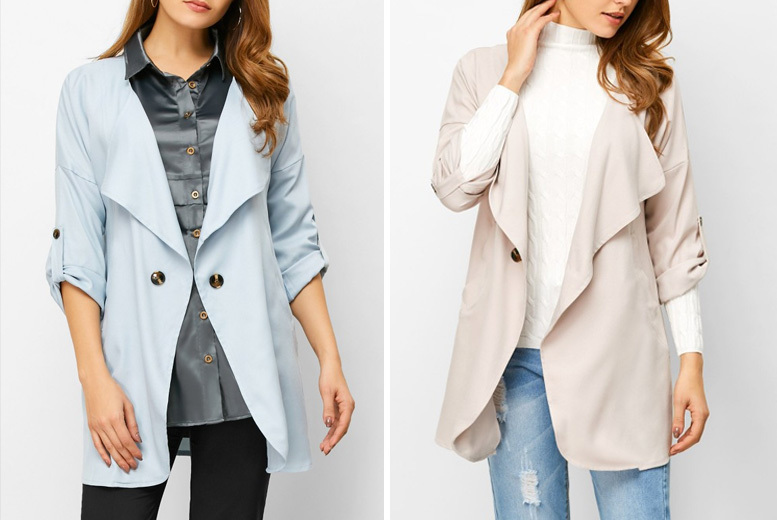 Oversize Waterfall Blazer – 2 Colours & UK Sizes 10-14!