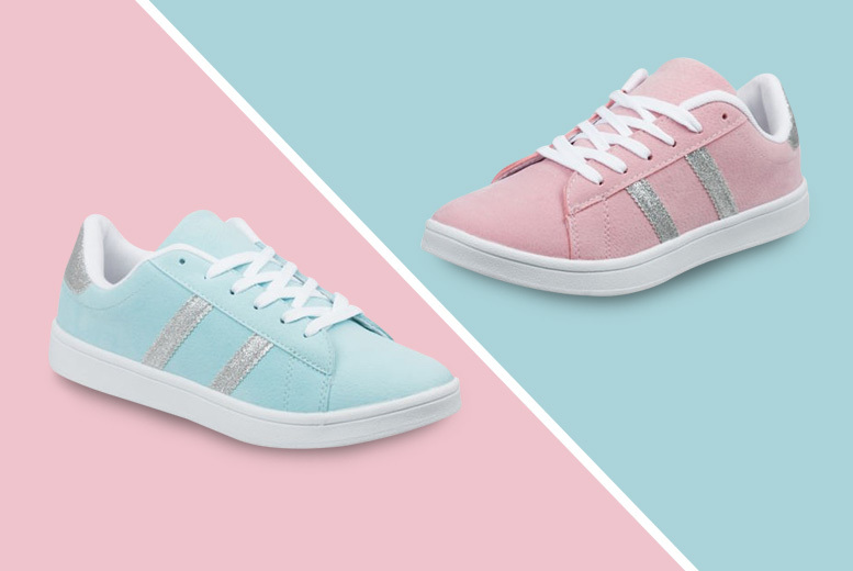 Womens Active Trainers – 2 Colours & 6 Sizes!