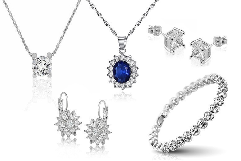 Crystal Jewellery & Free Earrings