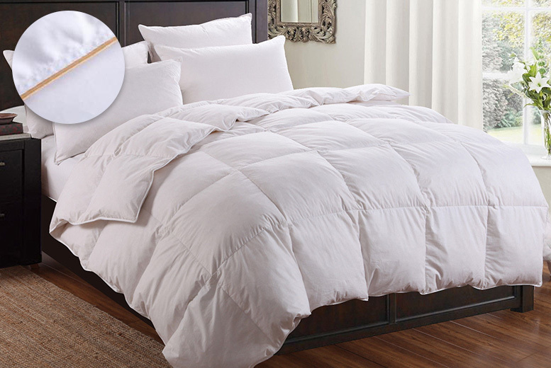 13.5 Tog Goose Feather & Down Duvet - 4 Sizes!