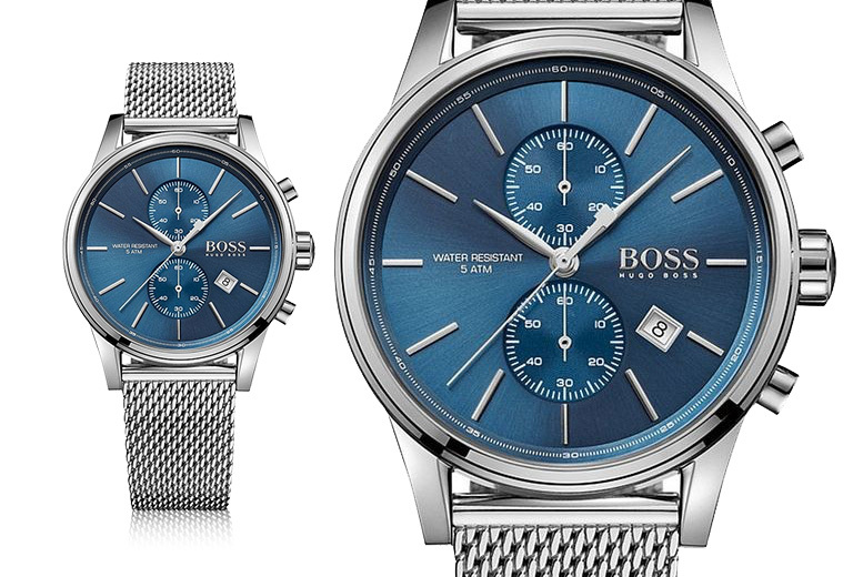 Mens Hugo Boss HB1513441 Stainless Steel Watch