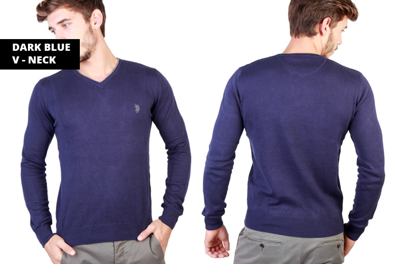 US Polo Sweatshirt – 12 Designs & Sizes Small-XXL!