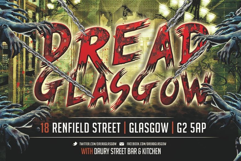 Live Action ZombieZ Scare Run for 2, 4 or 8 @ Dread Glasgow
