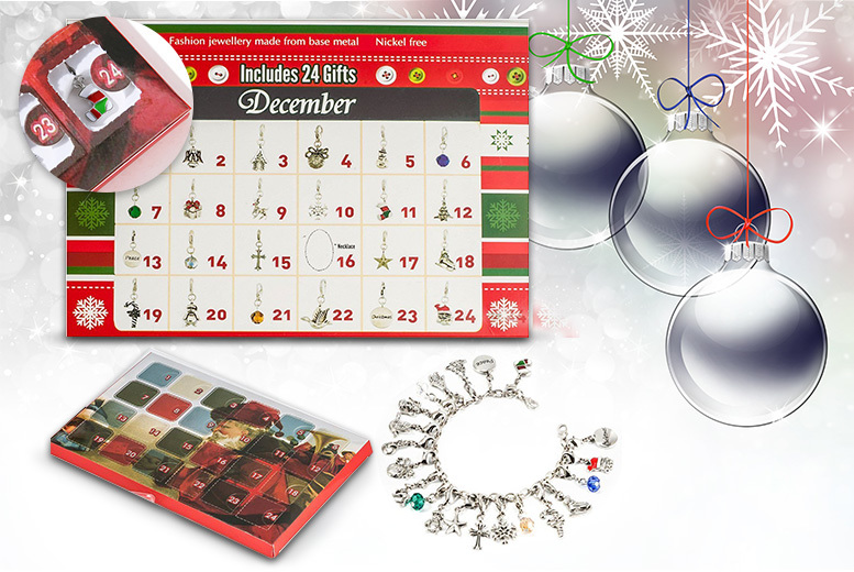 Luxury Jewellery Advent Calendar - 22 Unique Charms!
