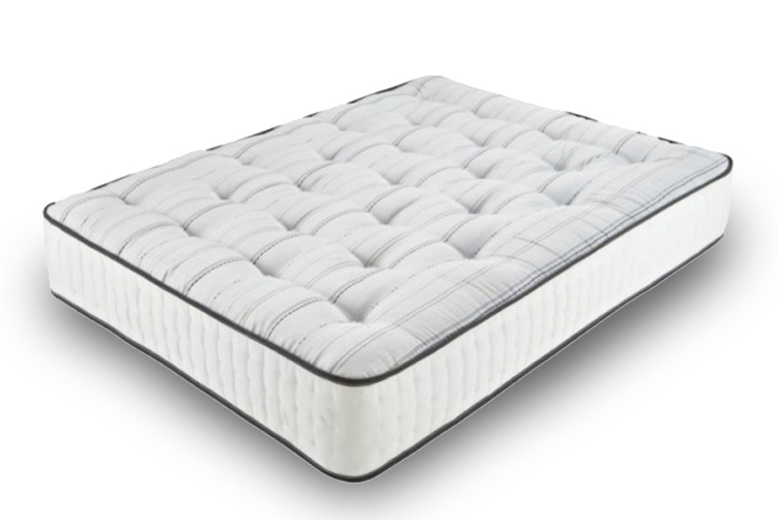 Orthopaedic Tufted 1500 Pocket Sprung Memory Foam Mattress (£59)