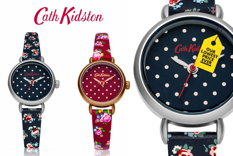 Cath Kidston Polka Dot Watch - 2 Designs!