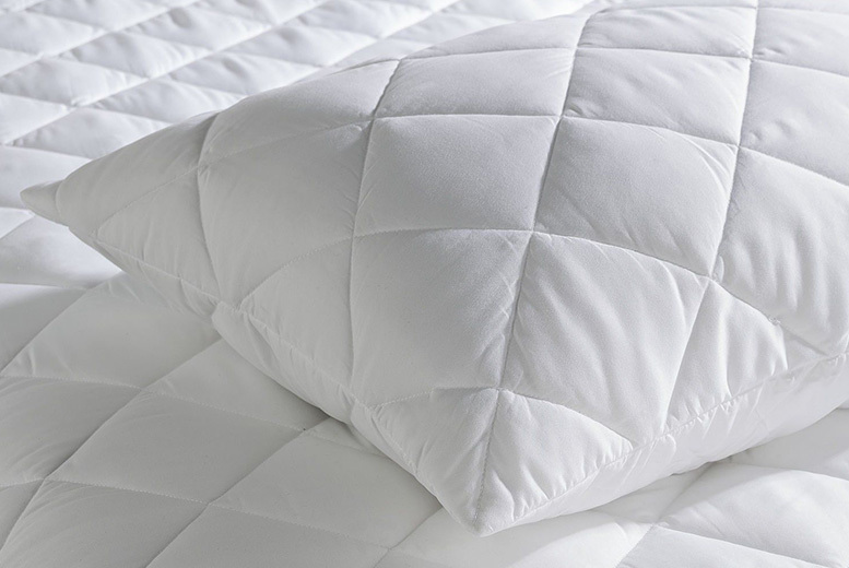 100% Egyptian Cotton Pillow & Mattress Protectors from £12.99