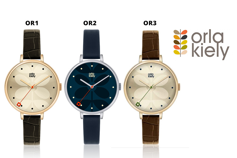 Orla Kiely Watch - 17 Designs!