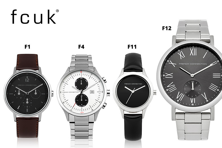FCUK Watch - 12 Designs!