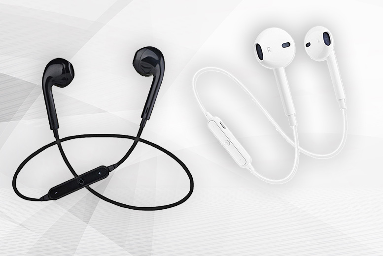 Apple-Compatible Wireless Bluetooth Headphones – 2 Colours!