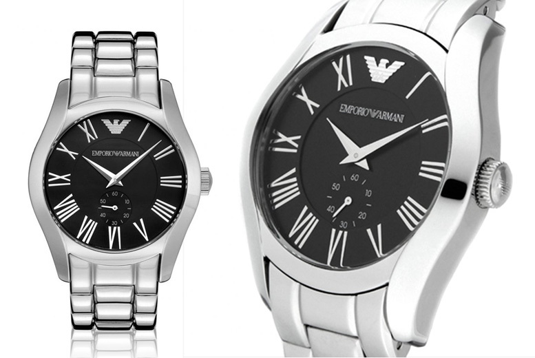 Men's AR0680 Emporio Armani Stainless Steel Watch