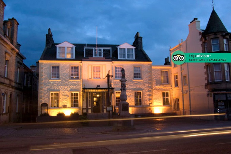 Edinburgh: 1-2nt Scottish Borders Stay, Breakfast, Cream Tea & Prosecco for 2 from £59