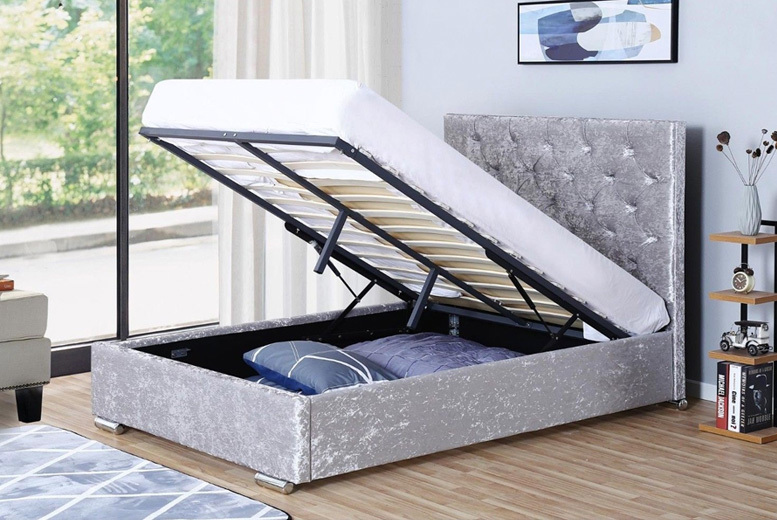 Orlando Ottoman Bed – 4 Options & 2 Colours Available! for £260