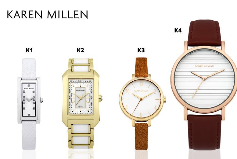 Ladies' Karen Millen Watches - 13 Designs!