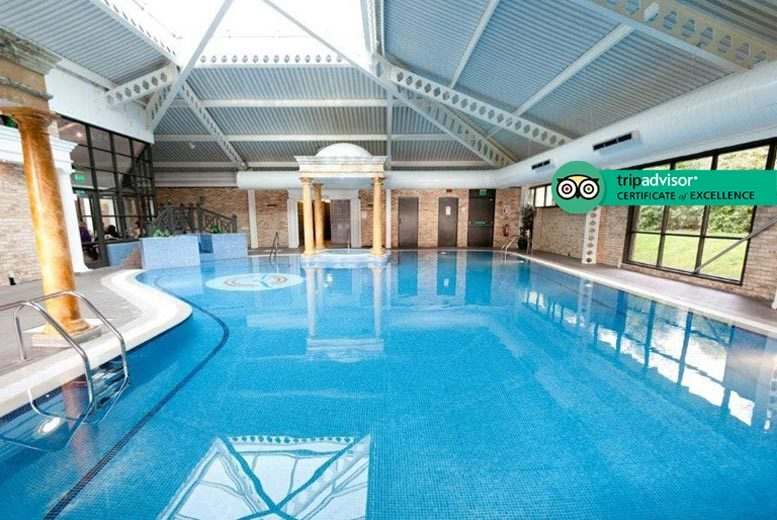 Spa Day & 2-Course Lunch for 2 @ 4* Keavil House Hotel