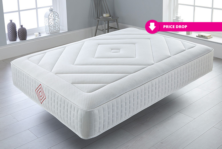 Luxury 12 Target Zone Comfort Memory Foam Mattress – 6 Options! from £94