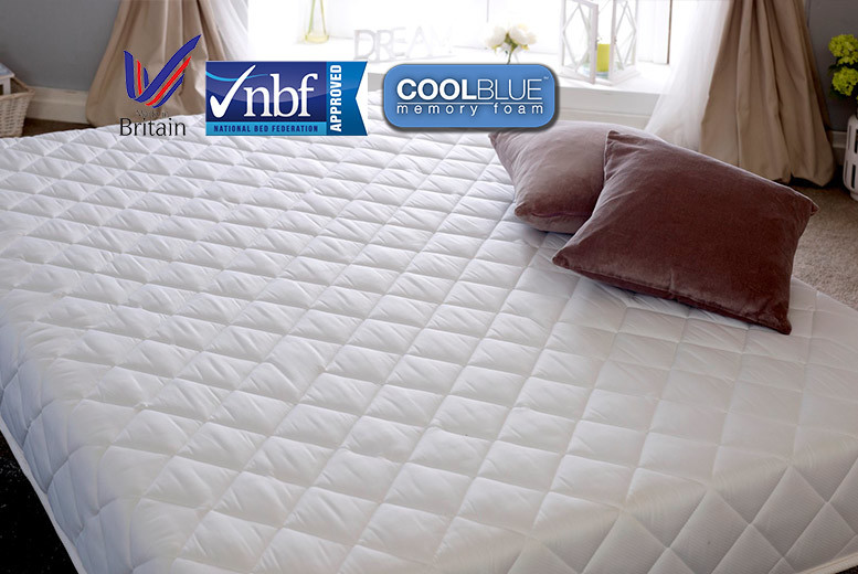 CoolBlue Hybrid Deep Sleep Mattress
