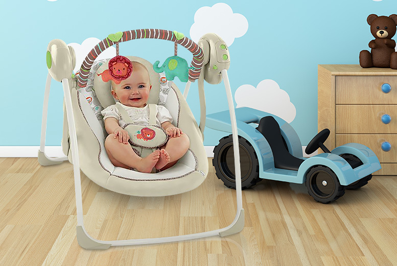 Bright Starts Comfort Harmony Portable Swing for £54.99