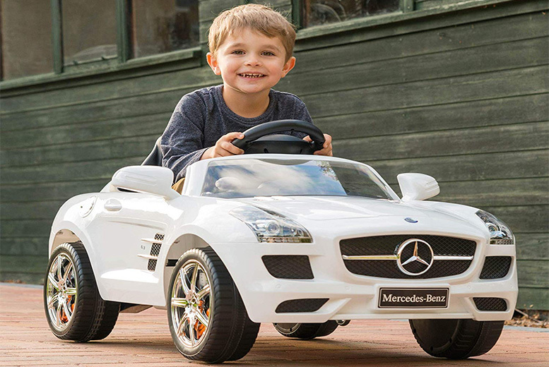 Mercedes SLS Electric Ride-On Car for £89.99