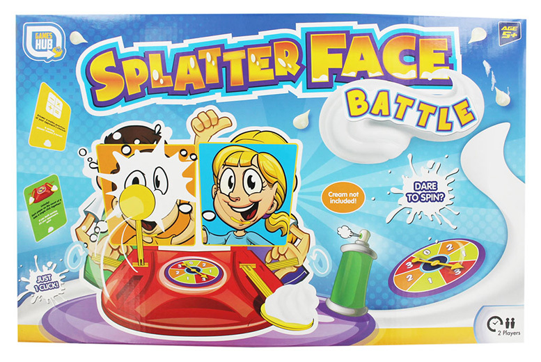 'Splatter Face' Battle Game for £7.99