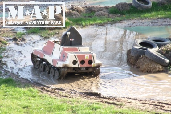 £3 instead of £9.95 (from The Military Adventure Park, Scarborough) for an M.A.P entry wrist band inc. one free go on any activity – save 69%
