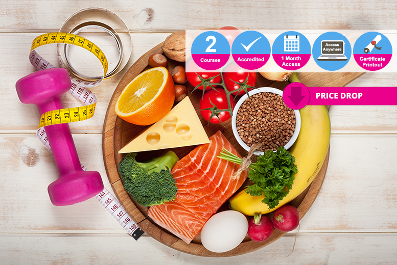 Accredited Nutrition & Sports Nutrition Bundle - 2 Courses!