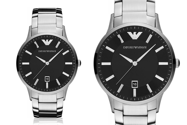 Men's Emporio Armani Watches - 4 Designs!