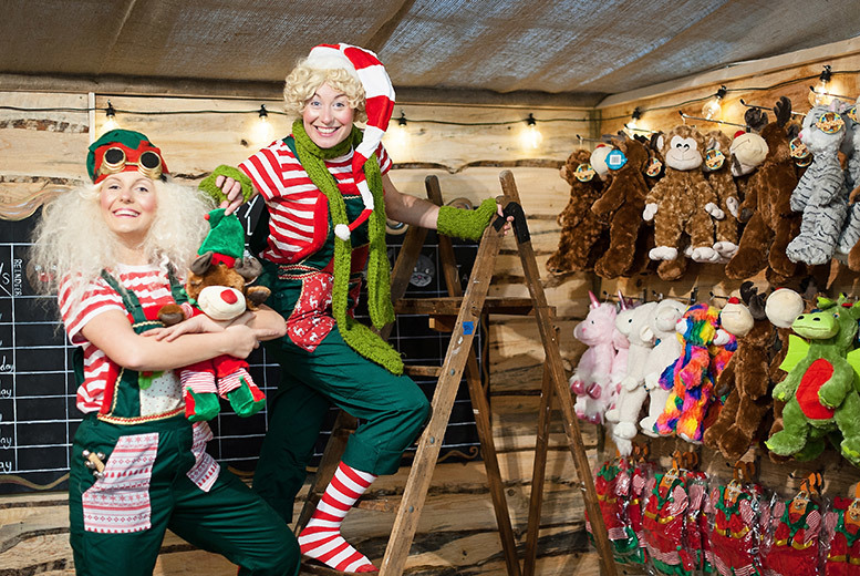 Discount Elves Workshop Tkt, Soft Toy & Farm Entry @ Cannon Hall Farm for just £5.00