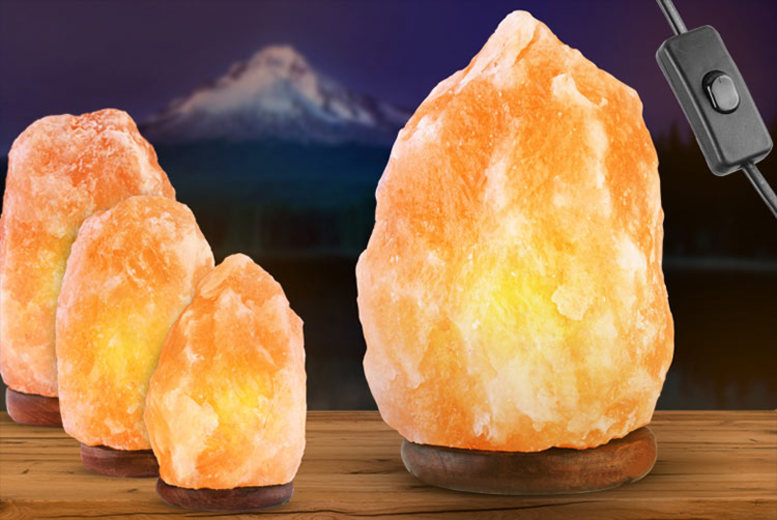 Image of From £9.99 instead of £36 (from Fusion Online) for a Himalayan salt lamp - choose from five sizes and save up to 72%