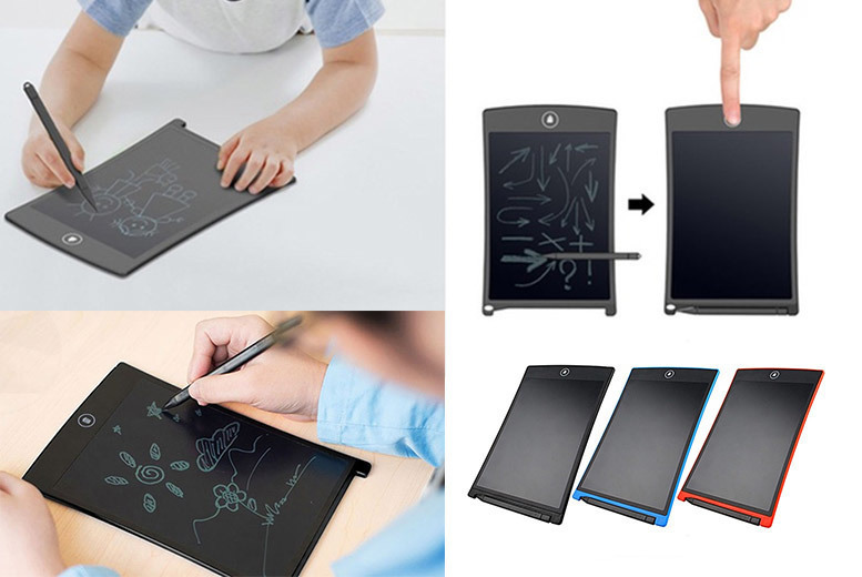 LCD Digital Writing and Drawing Tablet – 5 Options! for £9.99