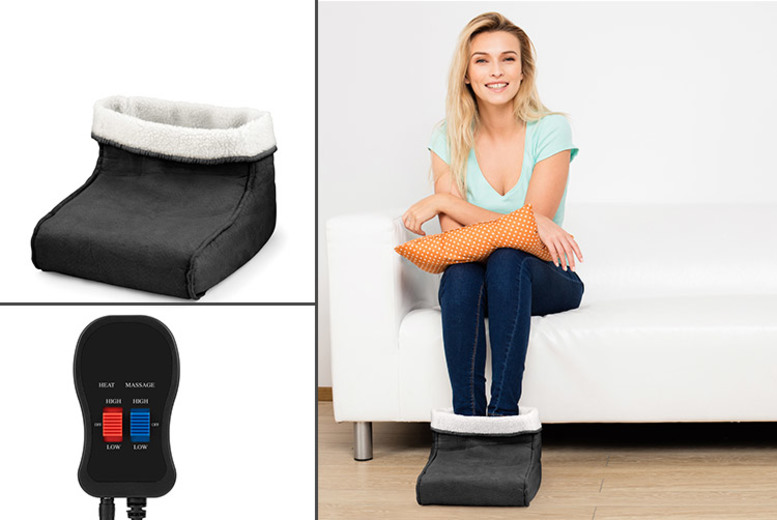 Foot Warmer & Massager – 3 Colours! for £19